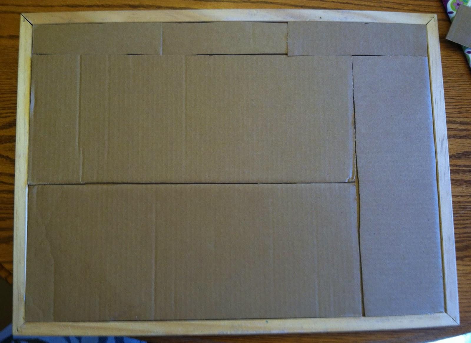 Makeover Old Cork Board