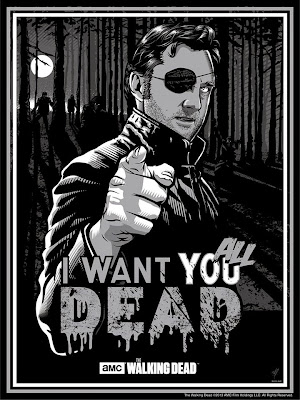The Governor - I want you all dead (by  Paul Ainsworth)