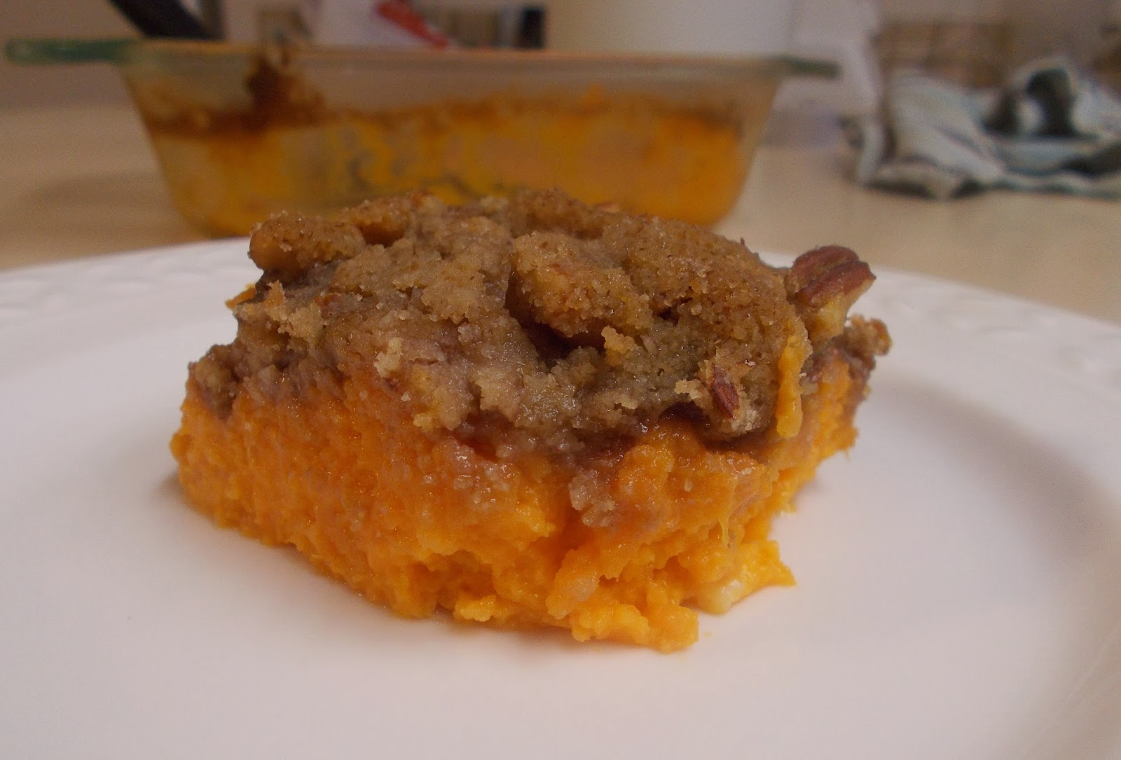 "Sweet Potato ""Casserole"""