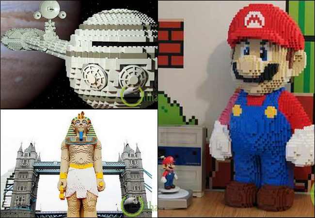 10 Karya Seni Lego yang paling Unik dan Menarik