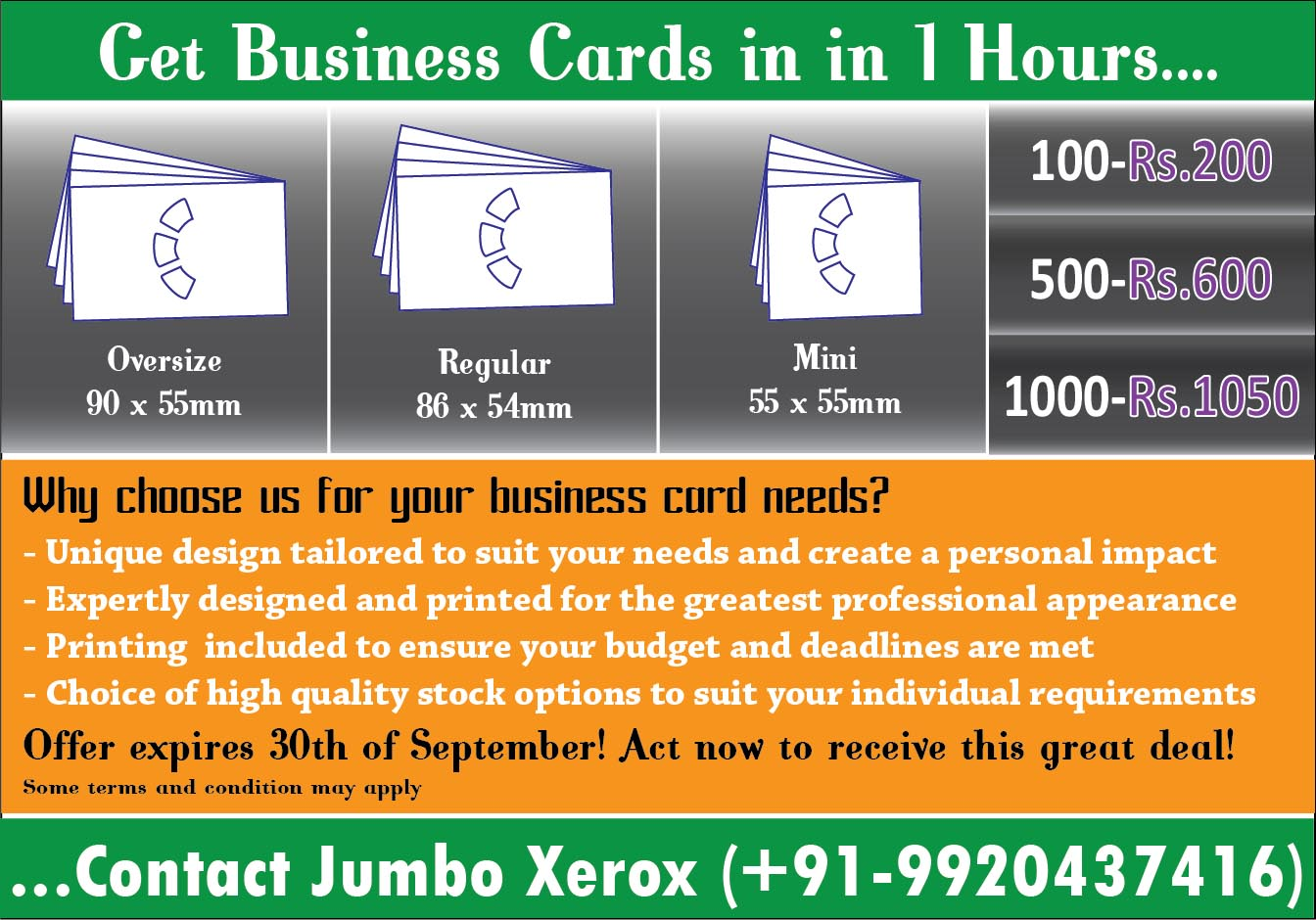 Get 100 Or 1000 Designer Business Cardvisiting Card In 1 Hour