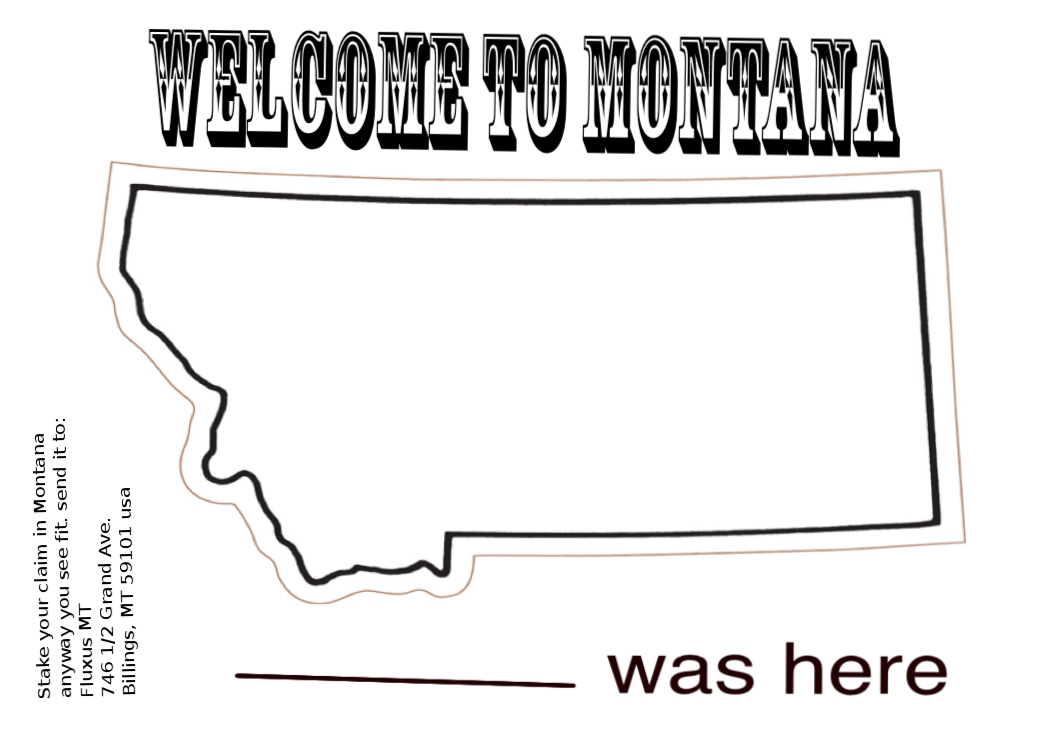 Welcome to Montana Mail Art Blog