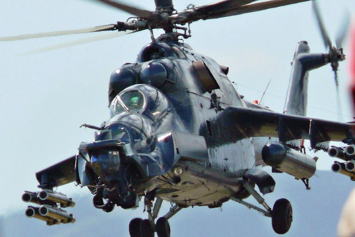 Mil Mi-35 Helicopter Attack Wallpaper 2