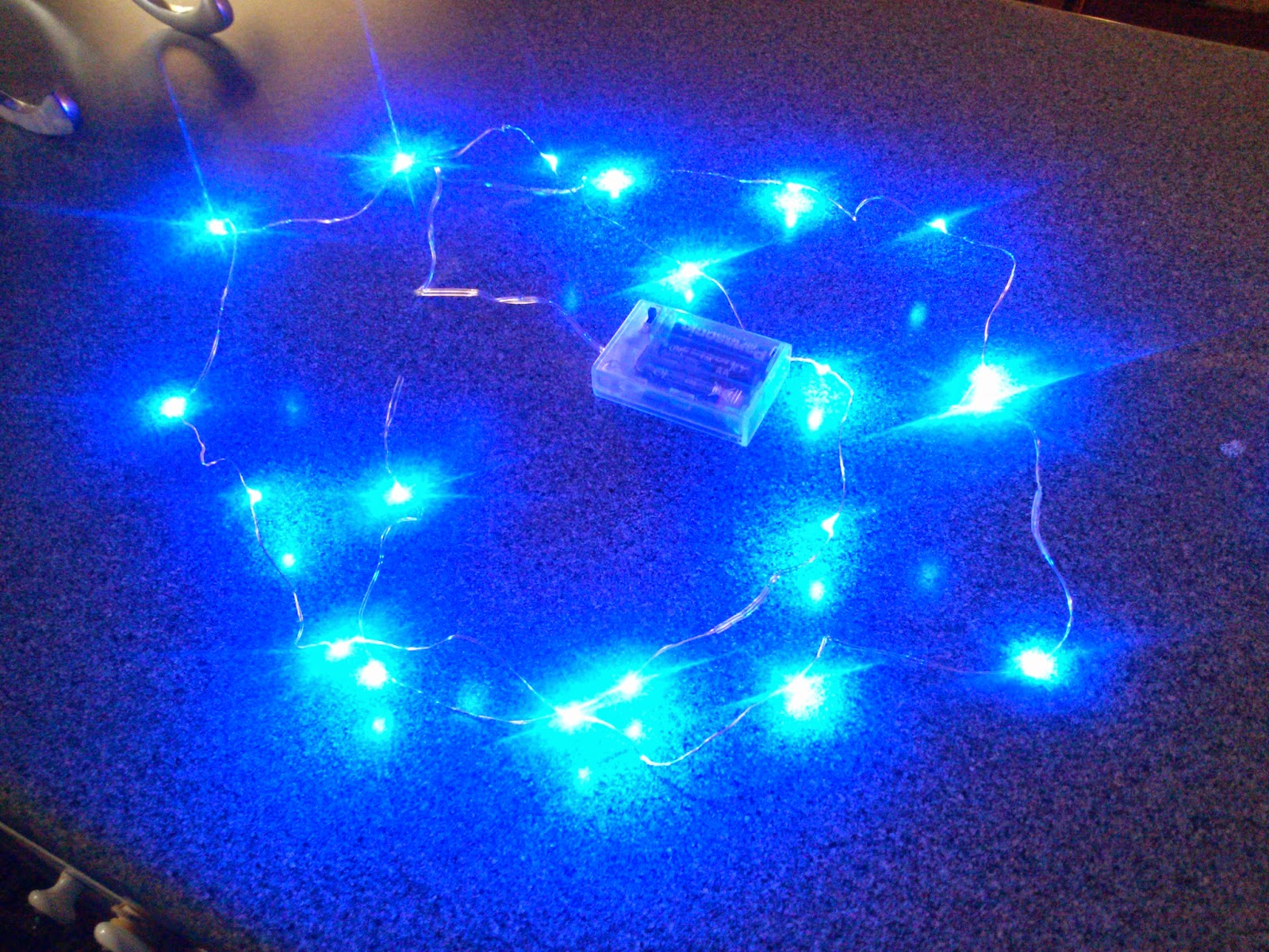 Micro LED String Lights Review -  for Holiday Decor, Fairy Wings, Costumes