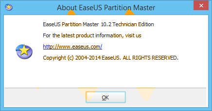 EaseUS Partition Master 10.2 Full Keygen