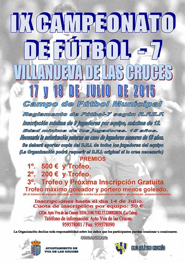 IX Campeonato de Fútbol - 7 de Villanueva de las Cruces