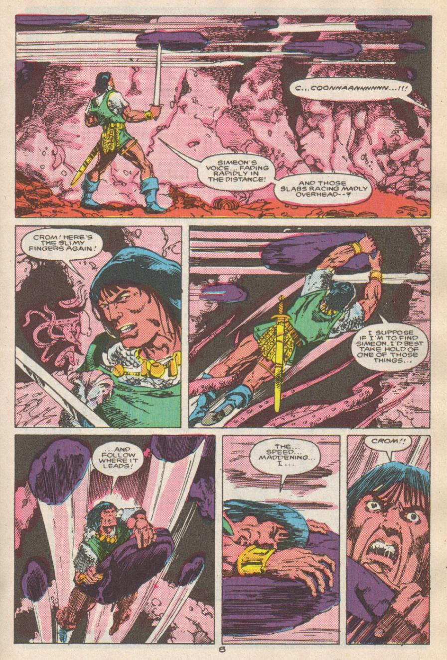 Conan the Barbarian (1970) Issue #192 #204 - English 9