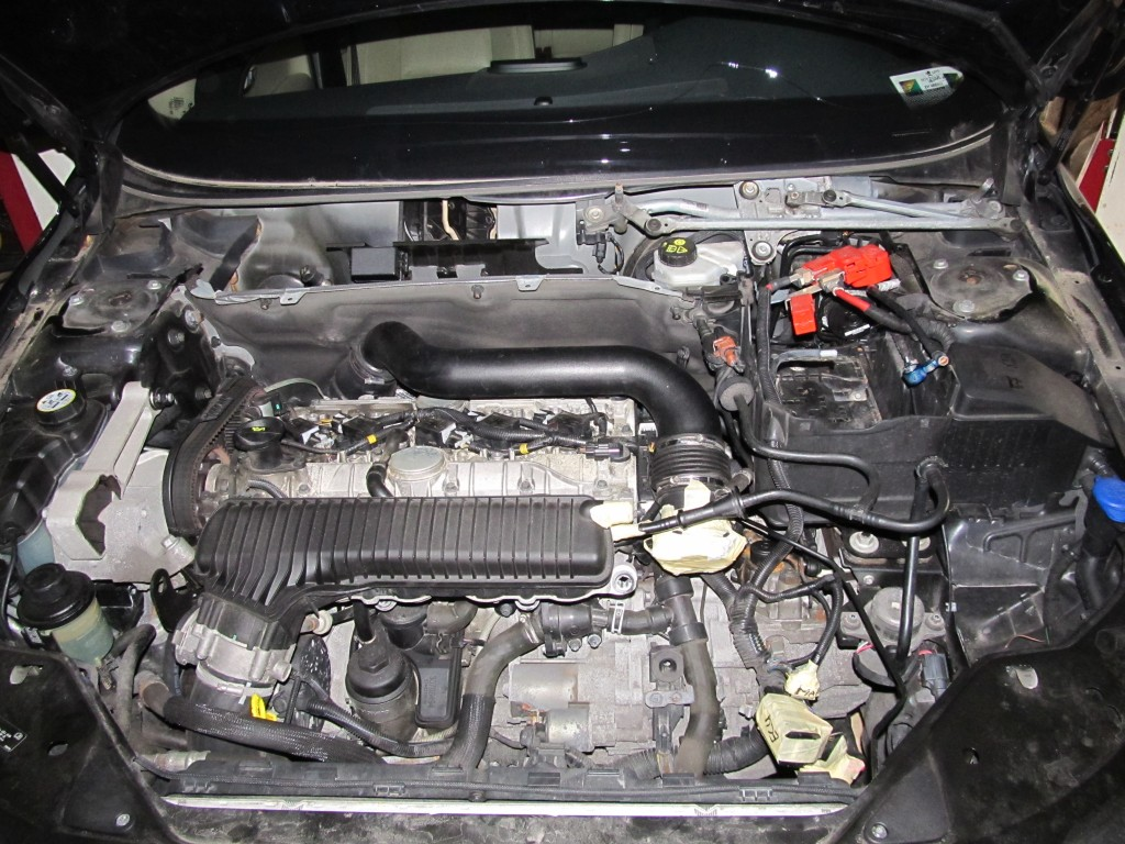 Volvo S80 Ev Conversion A Lot Going On In Parallel Subaru Sti Engine Diagram Labeled
