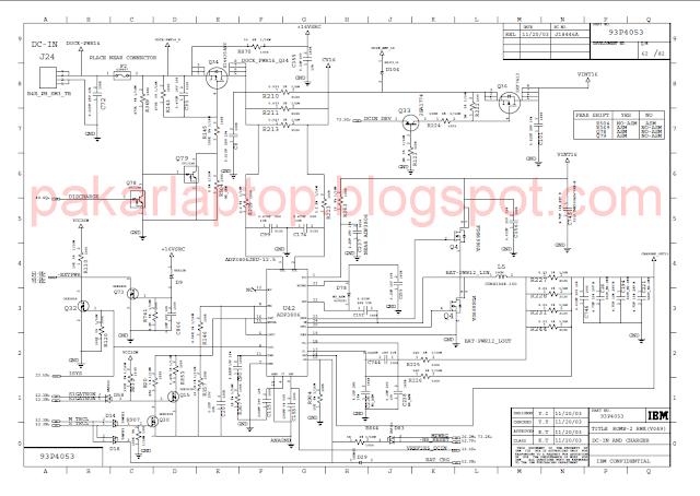 Laptop Motherboard Block Diagram