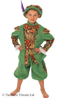 Duke of Albany Historical Kids Costume from Theatrical Threads Ltd