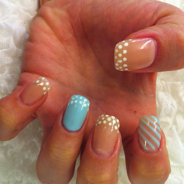 snazzy summer nails art 2014-2015http