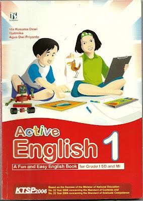 Buku Bahasa Inggris untuk SD