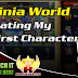 Luvinia World, Creating My Character