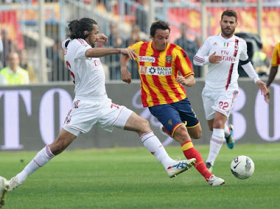 Lecce Milan 3-4 highlights sky
