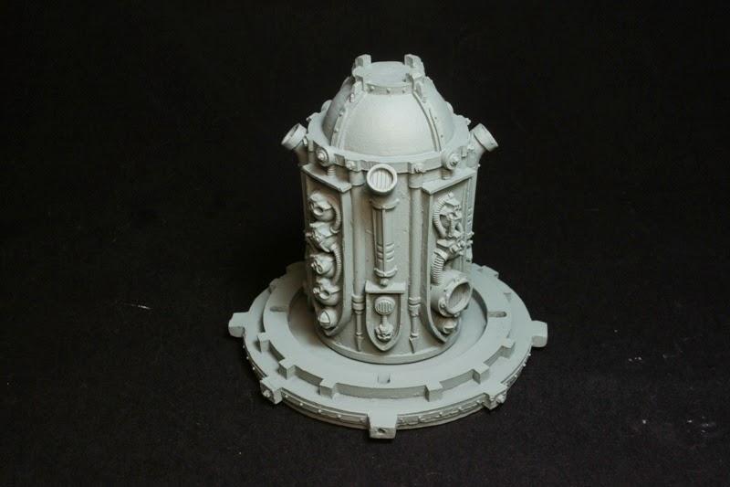 Pieza central del Generador de Escudo de Vacío