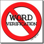 Please say NO to Word Verifciation