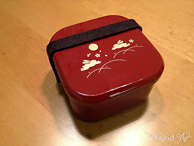 "Rote ""Usagi""-Box - Food Art"
