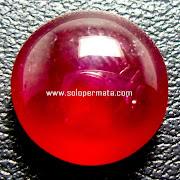 Batu permata Natural Merah Delima Ruby - Kode 22L04