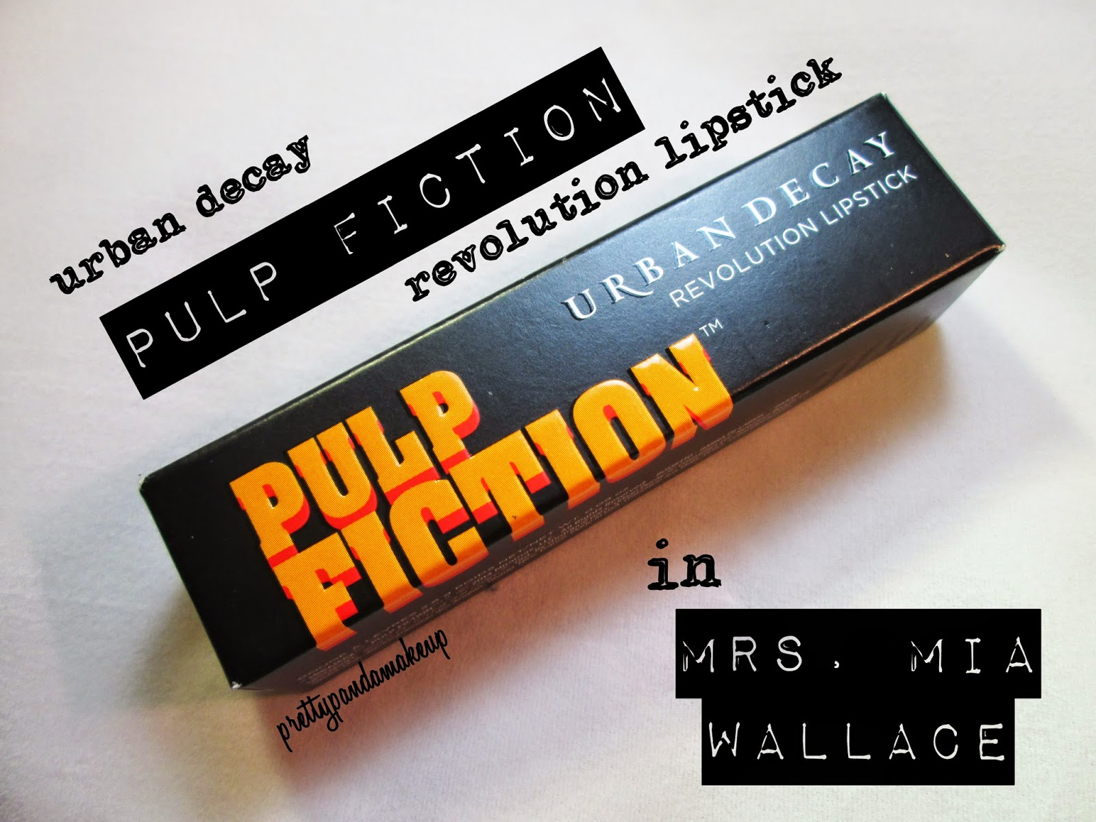 Urban Decay Mrs Mia Wallace Pulp Fiction