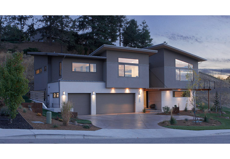 Veda 39 composite siding it 39 s everywhere for Modern house siding