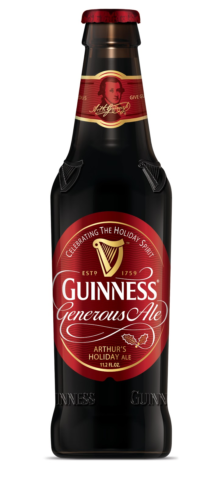 Guinness generous holiday ale new school beer - Guinness beer images ...