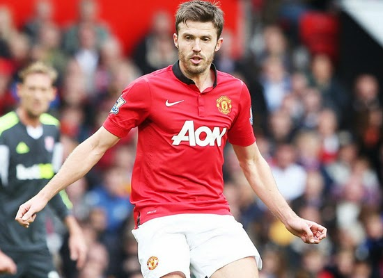 Michael carrick Manchester United Midfielder 2014