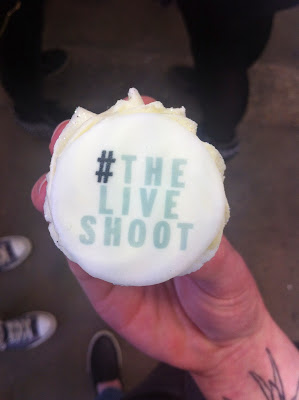 Instagram: Meeting Lindsey Kelk, Cupcakes and #TheLiveShoot