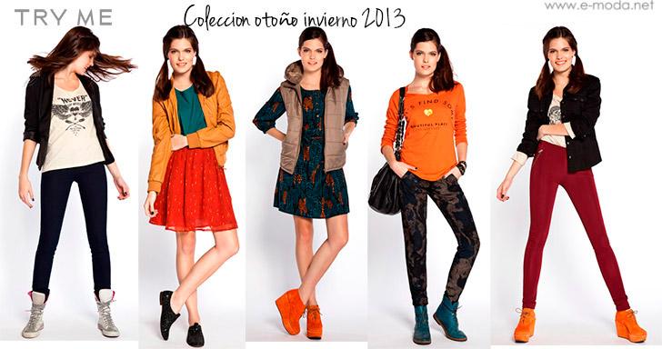 TRY ME ropa femenina invierno 2013