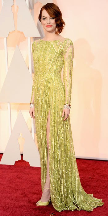 Fashion Police 2015 Oscars Emma Stone