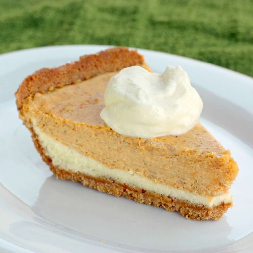 Best Recipes: Desert Recipes : Double Layer Pumpkin Cheesecake