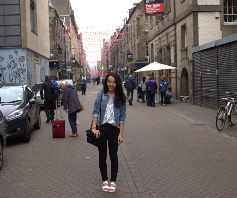 UK fashion blogger edinburgh