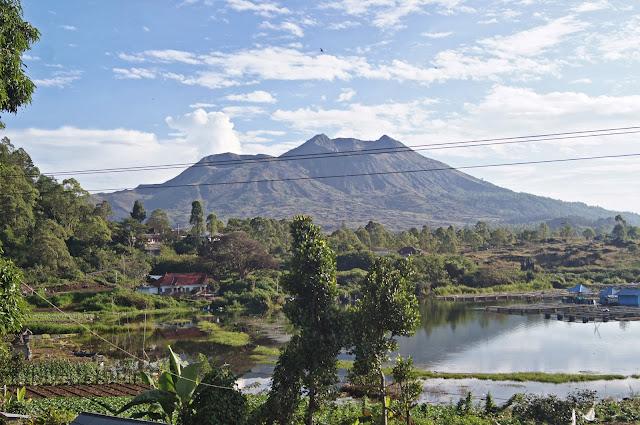 Vistas desde el hotel en Kedisan