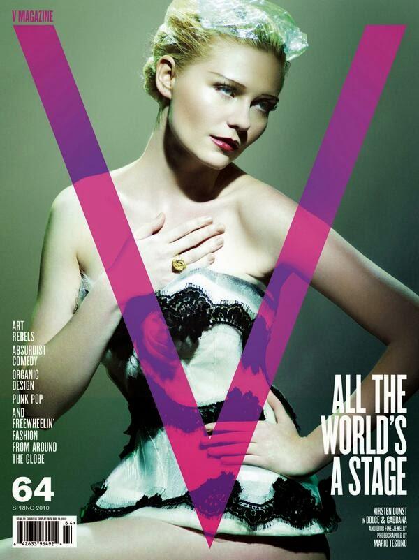 V magazine may