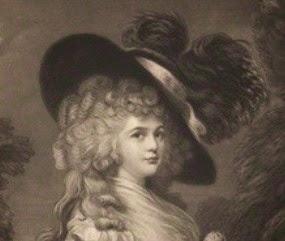 Georgiana Cavendish, Duchess of Devonshire,   from The Two Duchesses,  Family Correspondence (1898)