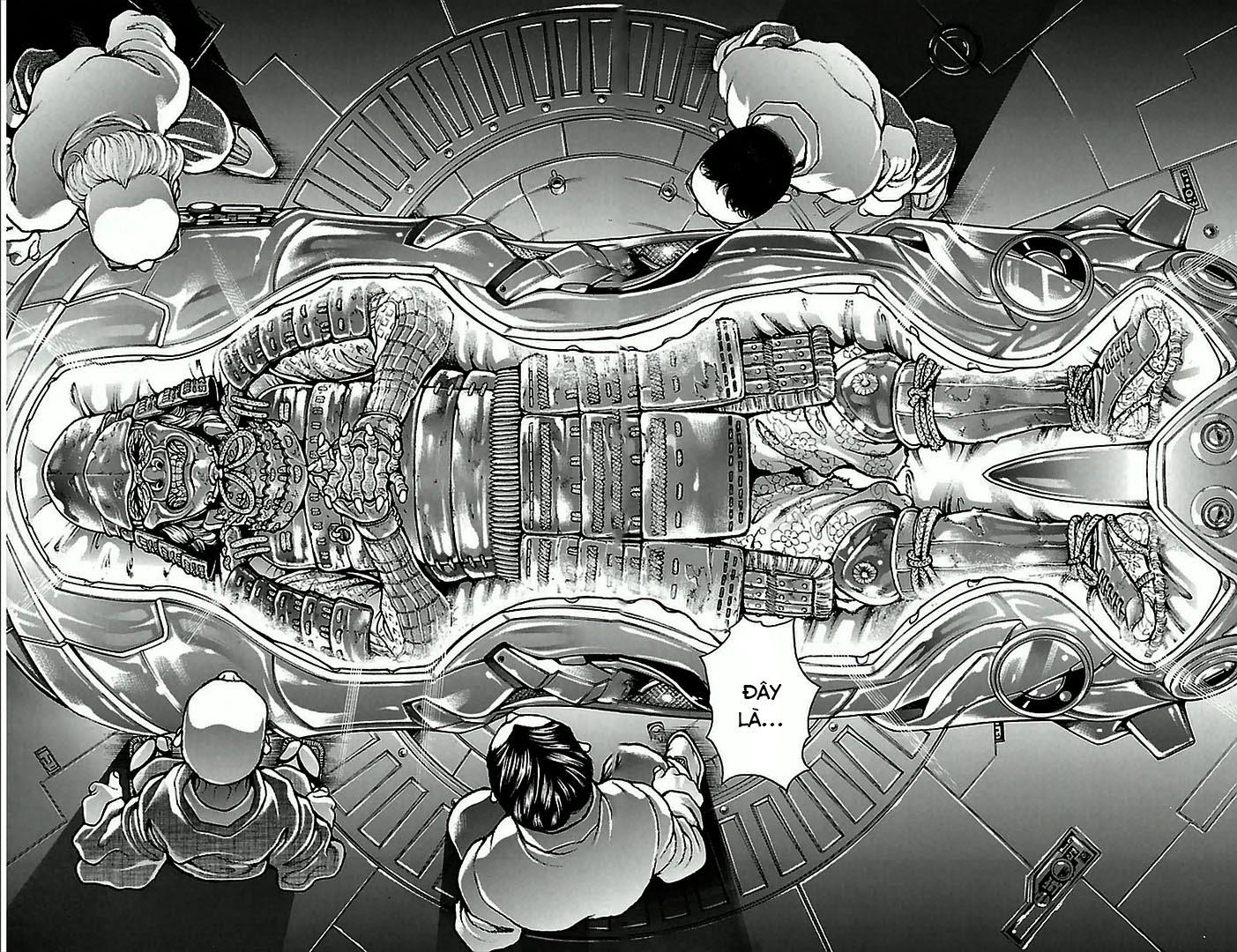 Baki Dou chap 4 Trang 22 - Mangak.info