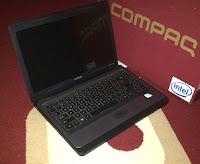 laptop second 2 jutaan di malang compaq presario cq43