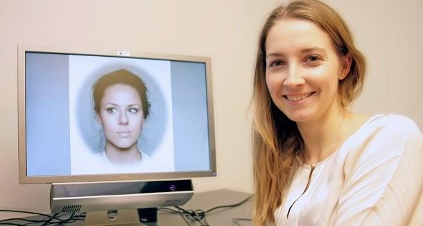 Olga Chelnokova, a pesquisadora do estudo, estudou como o cérebro percebe rostos bonitos.