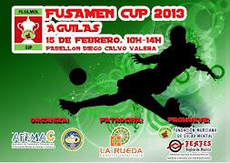 CARTEL DE LA FUSAMEN CUP 2013