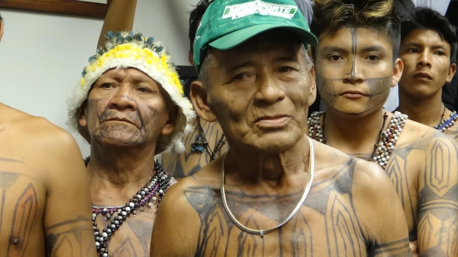 Munduruku no Forum Mundial de Direitos Humanos