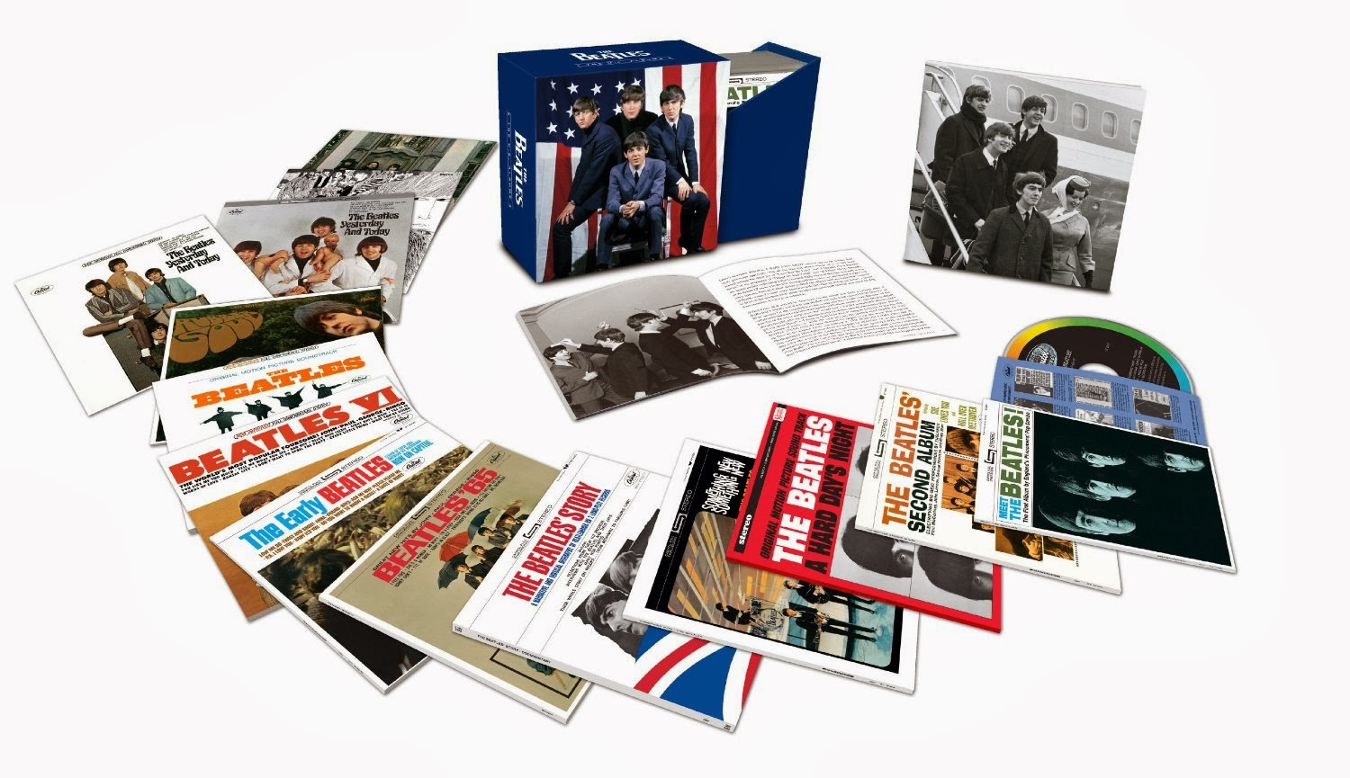 beatles american discography