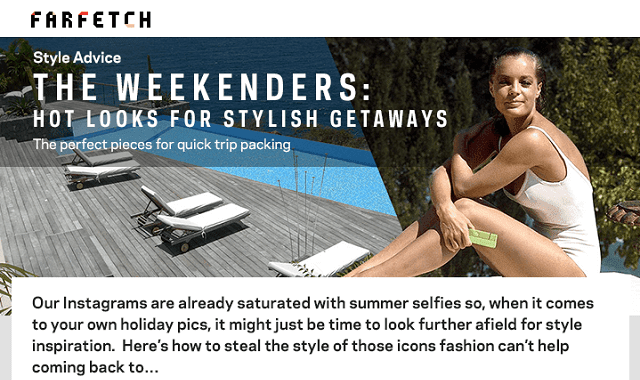 The Weekenders: Hot Looks for Stylish Getaways