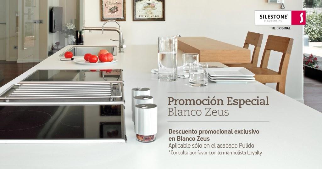 Cafran cocinas nuevas promociones silestone exclusivas - Silestone blanco zeus precio ...