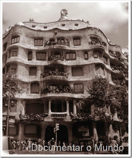 Casa Milà; Barcelona Modernista