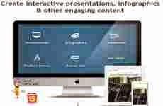 Visme: permite crear presentaciones, infografías, animaciones, banners, y demos online gratis