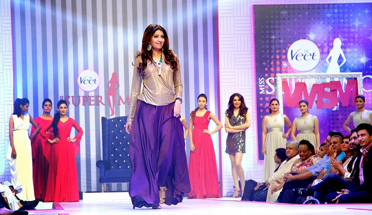 Beenish Khan Crowned Veet Miss Supermodel 2014
