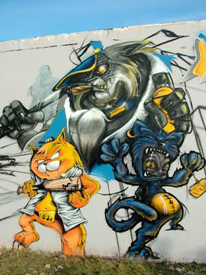 Cartoon Graffiti
