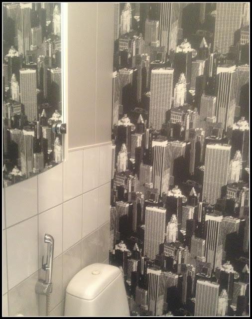 Valoisaa vaaleaa WC n välivaiheremppa