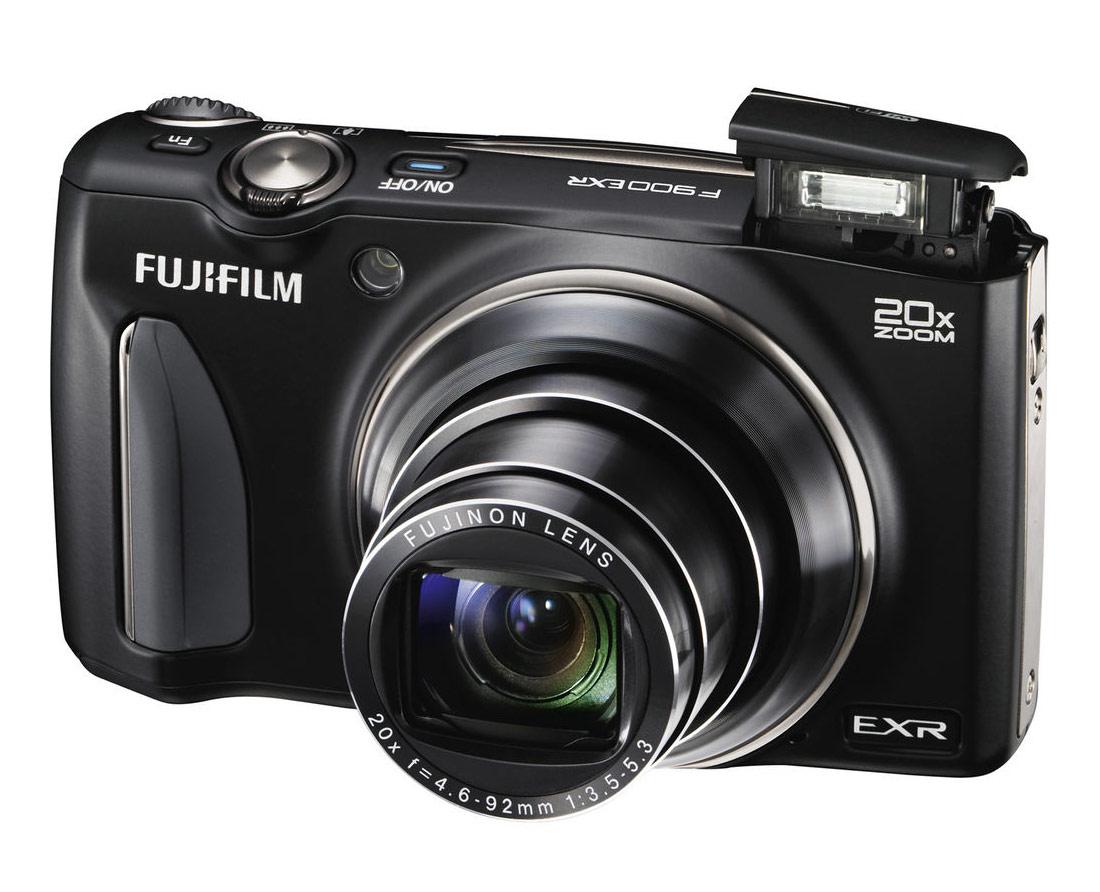 Fujifilm FinePix F900EXR – Best Pocket Superzoom (20x zoom)