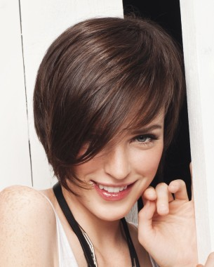 model gaya rambut pendek yang sesuai dengan bentuk muka/wajah