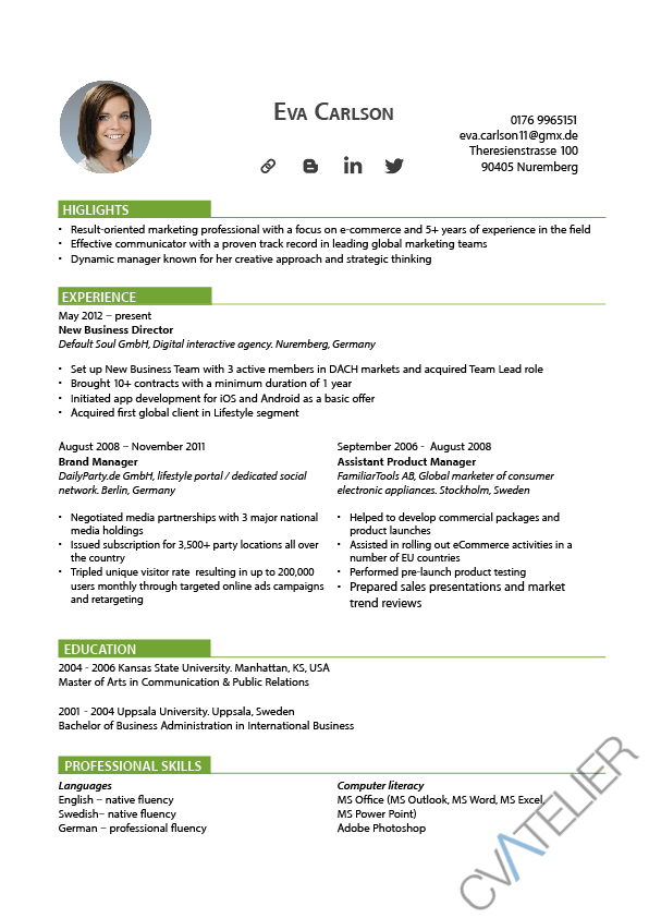 formal resume format word simplest sample canadian for template free